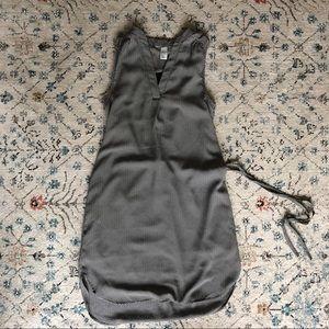 H&M herringbone tunic dress